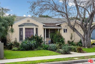 Culver City Single Family Home Active Under Contract: 4357 Tuller Avenue