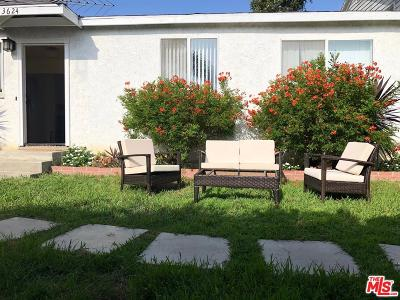 Mar Vista Rental For Rent: 3624 Greenwood Avenue