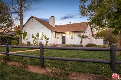 Sherman Oaks Single Family Home For Sale: 5002 Matilija Avenue