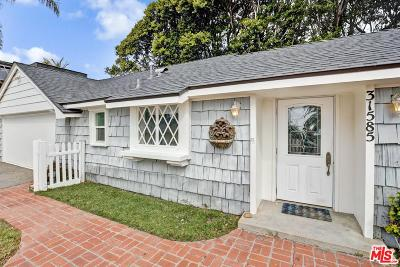Malibu CA Single Family Home Active Under Contract: $1,595,000
