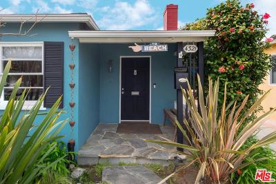 Culver City Single Family Home Active Under Contract: 4321 Neosho Avenue
