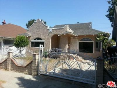 Mid Los Angeles (C16) Single Family Home For Sale: 2901 West 14th Street