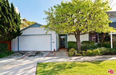 Pacific Palisades Single Family Home Active Under Contract: 424 Lombard Avenue