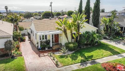 Inglewood Single Family Home Active Under Contract: 524 West 64th Place