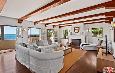Malibu CA Single Family Home For Sale: $3,995,000