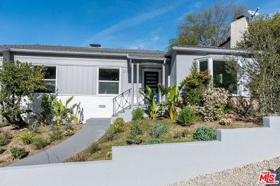 Los Angeles Single Family Home Active Under Contract: 3043 Angus Street