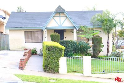 Inglewood Single Family Home For Sale: 4256 West 64th Street