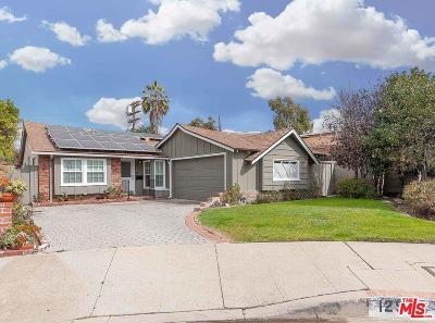 Valley Village Single Family Home Active Under Contract: 12523 Killion Street