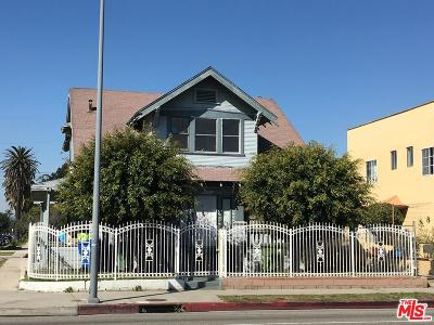 Los Angeles Single Family Home For Sale: 4527 South Normandie Avenue