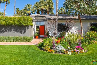 Palm Springs Single Family Home For Sale: 3194 East Cajon Circle