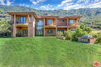Calabasas Single Family Home For Sale: 25663 Piuma Road