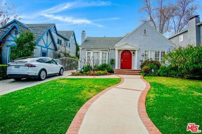 Los Angeles County Single Family Home Active Under Contract: 107 North Lucerne