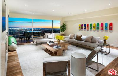 Los Angeles CA Condo/Townhouse For Sale: $14,995,000