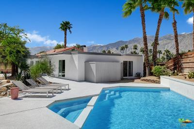 Palm Springs Single Family Home Active Under Contract: 570 North Burton Way
