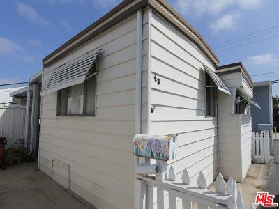 Los Angeles County Mobile Home For Sale: 11250 Playa
