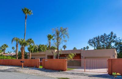 Palm Springs Single Family Home Active Under Contract: 1148 North Calle Marcus