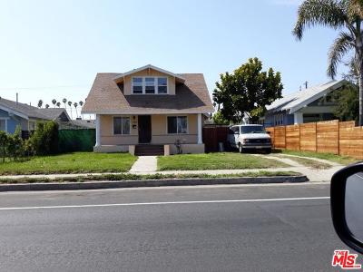 Los Angeles Single Family Home Active Under Contract: 4823 Arlington Avenue