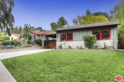 Los Angeles County Single Family Home Active Under Contract: 1856 North Avenue 52