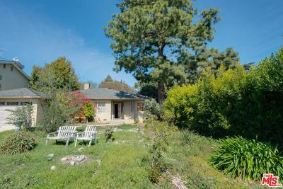 Single Family Home For Sale: 1100 South Carmelina Avenue