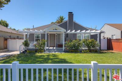 Sherman Oaks Single Family Home For Sale: 14252 Hortense Street