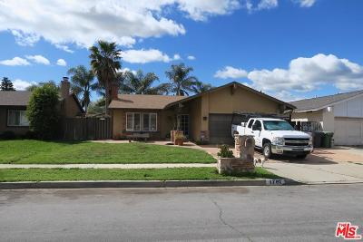 Simi Valley Single Family Home Active Under Contract: 1761 Damon Street