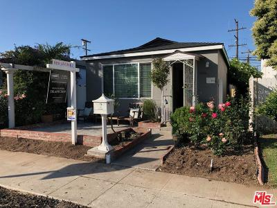 Culver City Single Family Home For Sale: 5514 Inglewood