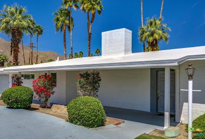 Palm Springs Single Family Home For Sale: 1350 East Mesquite Avenue
