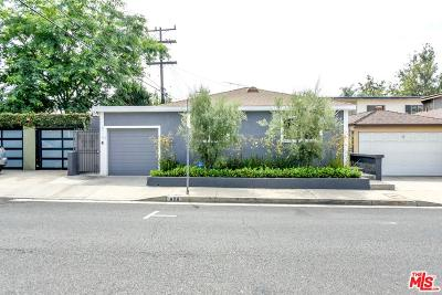 Los Angeles County Single Family Home Active Under Contract: 8116 Romaine Street