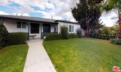 Culver City Single Family Home Active Under Contract: 4212 McLaughlin Avenue