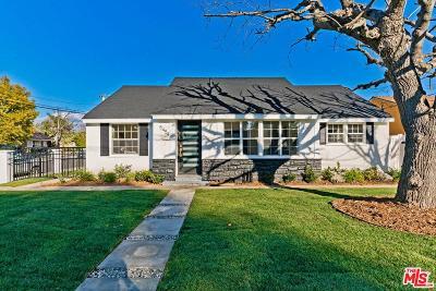 Single Family Home For Sale: 5454 Murietta Avenue