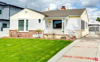 Single Family Home For Sale: 6369 West 83rd Street