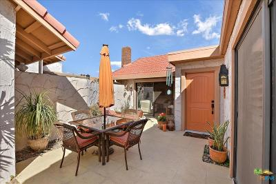 Palm Springs Condo/Townhouse Active Under Contract: 2255 West Miramonte Circle #C
