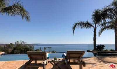 Malibu CA Single Family Home For Sale: $5,875,000