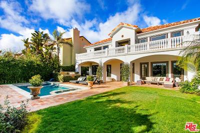 Pacific Palisades Single Family Home For Sale: 16718 Via Pacifica