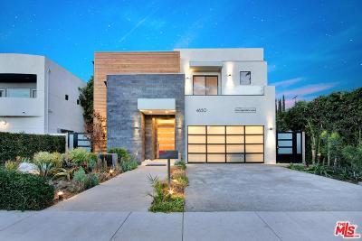Sherman Oaks Single Family Home For Sale: 4630 Tobias Avenue