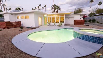 Palm Springs Single Family Home Active Under Contract: 1245 South Sunrise Way