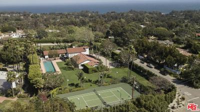 Malibu CA Single Family Home For Sale: $9,995,000