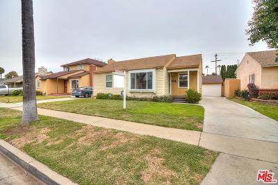 Long Beach Single Family Home For Sale: 1067 East Luray Street