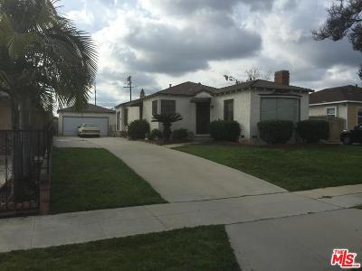 San Gabriel Single Family Home For Sale: 1133 Palm Avenue