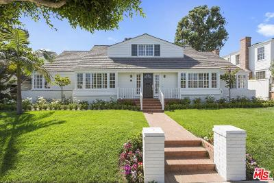 Pacific Palisades Single Family Home Active Under Contract: 523 Chapala Drive