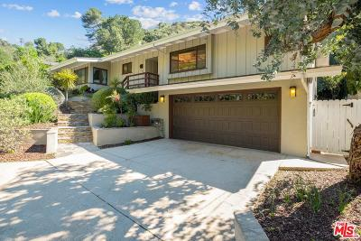 Los Angeles Single Family Home For Sale: 2066 Roscomare Road