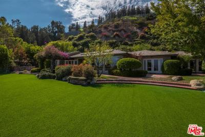 Beverly Hills Single Family Home For Sale: 1450 Bella Drive