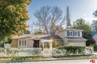 Toluca Lake Single Family Home Active Under Contract: 4542 Ledge Avenue