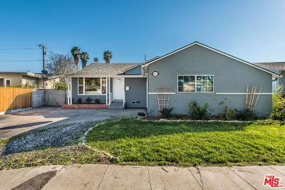 Culver City Single Family Home Active Under Contract: 4391 Mentone Avenue
