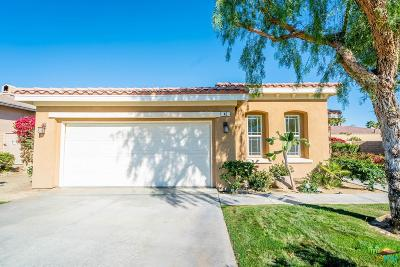 Rancho Mirage Single Family Home Active Under Contract: 42 Shoreline Drive