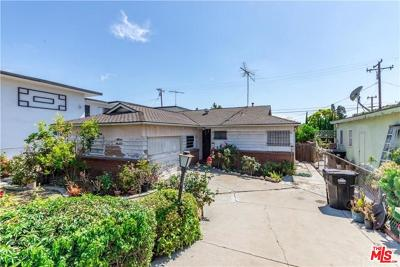 Los Angeles County Single Family Home For Sale: 5321 South Centinela Avenue