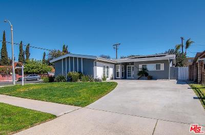 North Hollywood Single Family Home Active Under Contract: 6562 Ensign Avenue