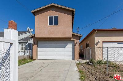 Compton Single Family Home For Sale: 2605 East 124th Street