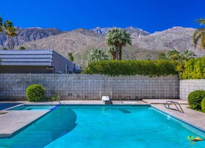 Palm Springs Single Family Home For Sale: 1250 East Marion Way