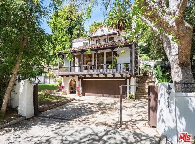 Single Family Home For Sale: 8635 Wonderland Avenue